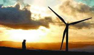 REDUCE: Hundreds of wind turbines could be added to East Lancashire, similar to those at Hameldon Hill Wind Farm