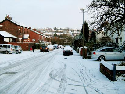 Burnley and Pendle Citizen: Photos of snow in Blackburn