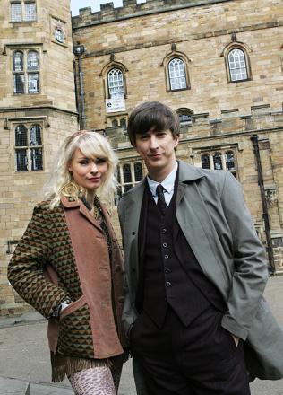 Lee Ingleby, as DS John Bacchus, with Myanna Buring