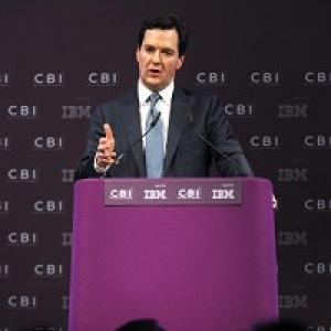 Chancellor George Osborne reaffirmed his commitment to cut corporation tax