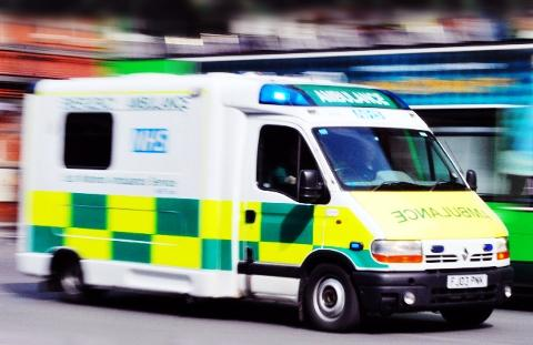 East Lancs ambulance crew forced to lock themselves into vehicle