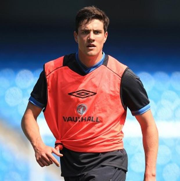 Martin Kelly remained at the team hotel while the England squad trained on Wednesday