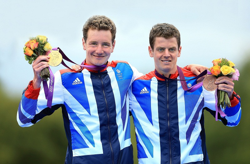 The Brownlee brothers have helped spark more interest in triathlon