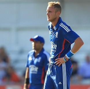Burnley and Pendle Citizen: Stuart Broad, right, was the pick of England's bowlers with three wickets