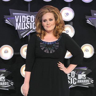 Adele has scored yet another music award for her hit Rolling In The Deep