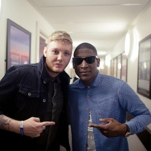 Labrinth performed with X Factor contestant James Arthur