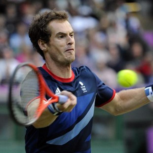 Andy Murray, pictured, defeated Paul-Henri Mathieu 7-5 6-3 at the BNP Paribas Open