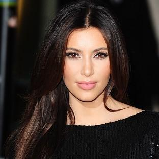 Kim Kardashian ccelebrated the UK launch of the Kardashian Kollection