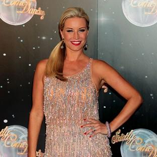 File photo dated 11/9/12 of Denise Van Outen who has had to put rehearsals on hold for Strictly Come Dancing after damaging her neck. PRESS ASSOCIATION Photo. Issue date: Thursday October 11, 2012. See PA story SHOWBIZ Strictly. Photo credit should read: