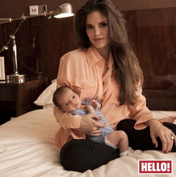 Burnley and Pendle Citizen: Carly Cole with new son Harrison