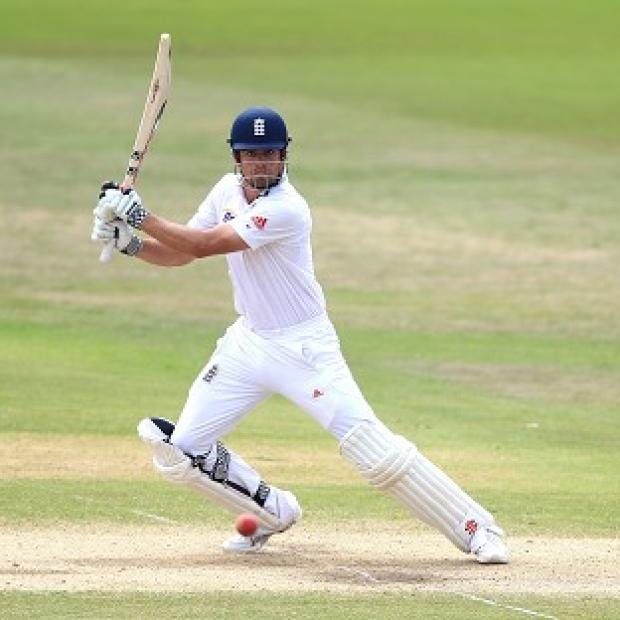 Burnley and Pendle Citizen: Alastair Cook was amongst the runs again for England