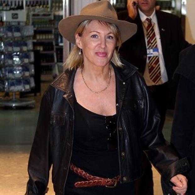 Burnley and Pendle Citizen: Nadine Dorries was back in Britain after her jungle adventure