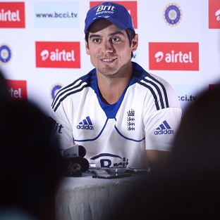 Alastair Cook, pictured, hailed the performance of Kevin Pietersen