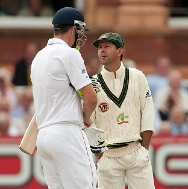 Burnley and Pendle Citizen: Kevin Pietersen, left, has hailed Ricky Ponting after the Australian legend announced his Test retirement
