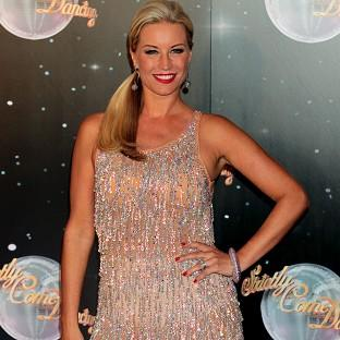 Denise Van Outen is happy to have got so far in this year's Strictly Come Dancing