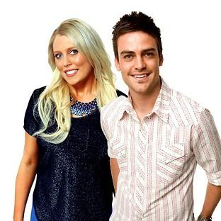 2 Day FM radio presenters Mel Greig, left, and Michael Christian (AP/AAP/ Southern Cross Austereo Sydney)