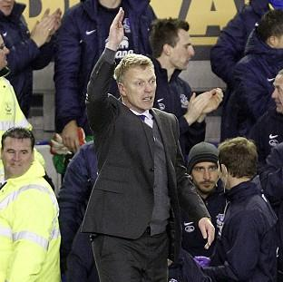 David Moyes believes Everton deserved the three points they captured late on