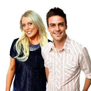 2 Day FM radio presenters Mel Greig, left, and Michael Christian have spoken out about their hoax phone call (AP/AAP/Southern Cross Austereo)