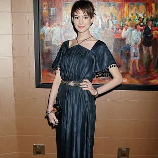 Anne Hathaway said singing live on film was a new challenge for her