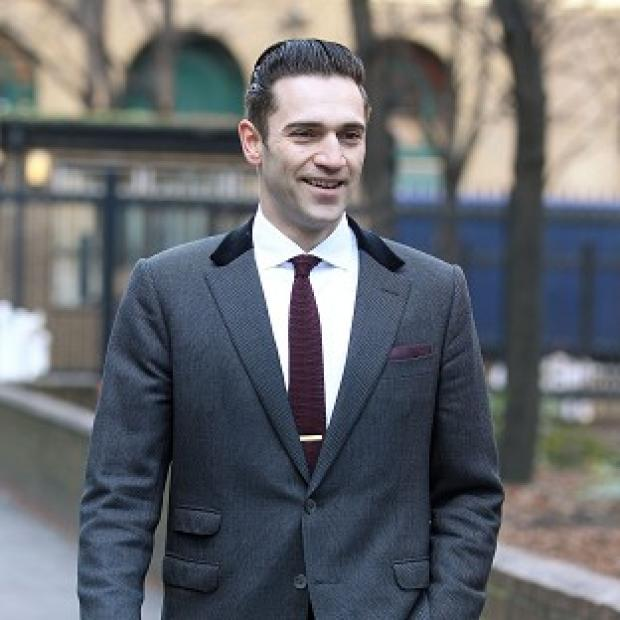 Reg Traviss has denied two counts of rape