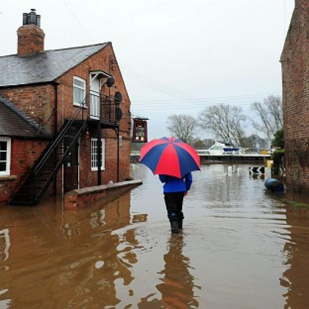 Burnley and Pendle Citizen: Total rainfall for 2012 was just millimetres shy of the record set in 2000 - and warnings over more flooding have been issued
