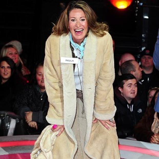 Burnley and Pendle Citizen: Paula Hamilton has been taken ill in the Celebrity Big Brother house