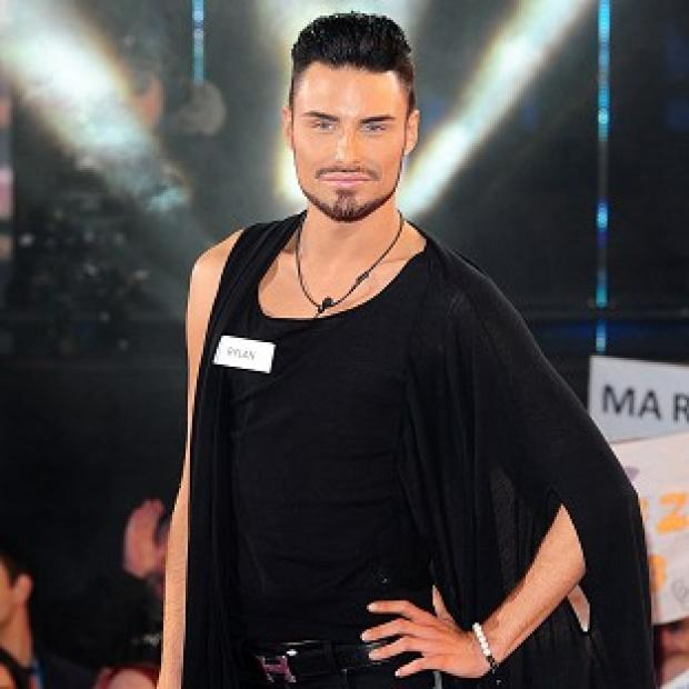 Rylan Clark has an idea for a machine to make 'putting your face on' easier