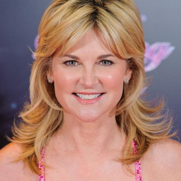 Anthea Turner is competing on the latest series of Dancing On Ice