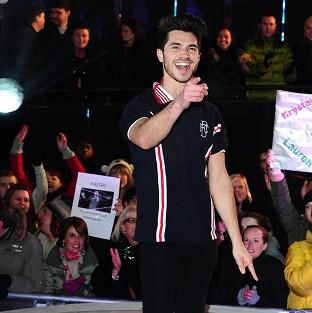 Sam Robertson is evicted from the Celebrity Big Brother House