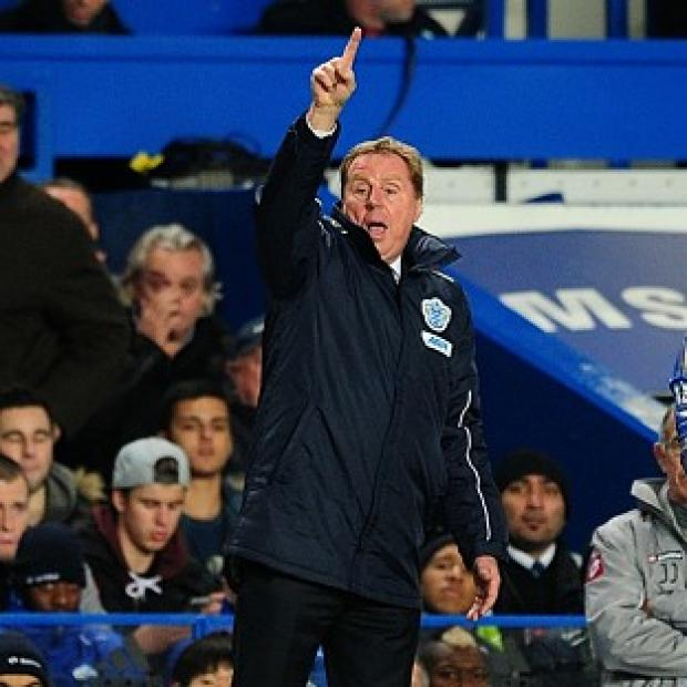 Burnley and Pendle Citizen: QPR boss Harry Redknapp will face former club Tottenham on Saturday