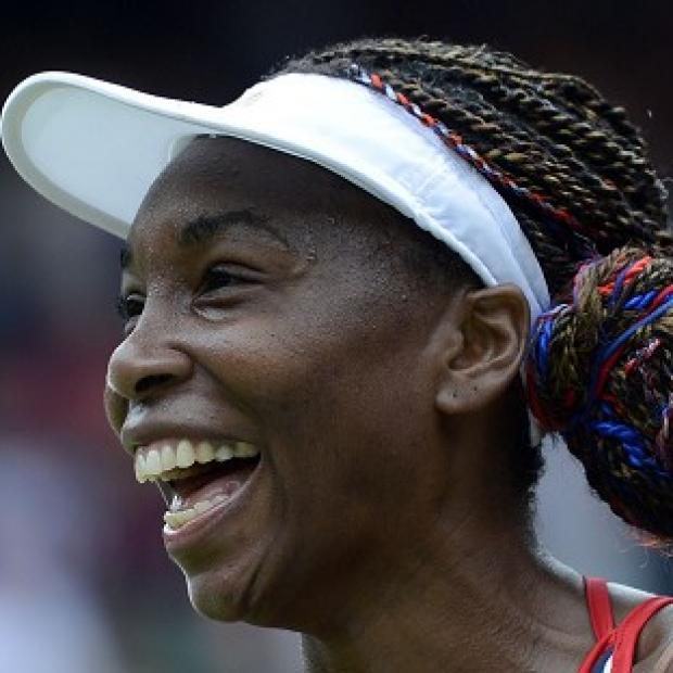 Venus Williams was pleased to have negotiated the first hurdle with the minimum of fuss