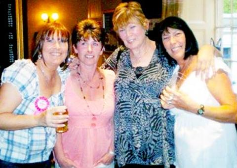 Maxine, Eileen, Jacqueline and Maureen