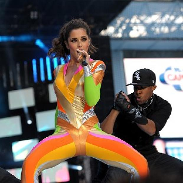 Burnley and Pendle Citizen: Cheryl Cole performing with her boyfriend, dancer Tre Holloway