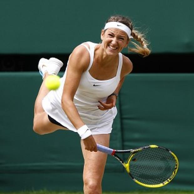 Victoria Azarenka progressed to the quarter-finals at the Australian Open