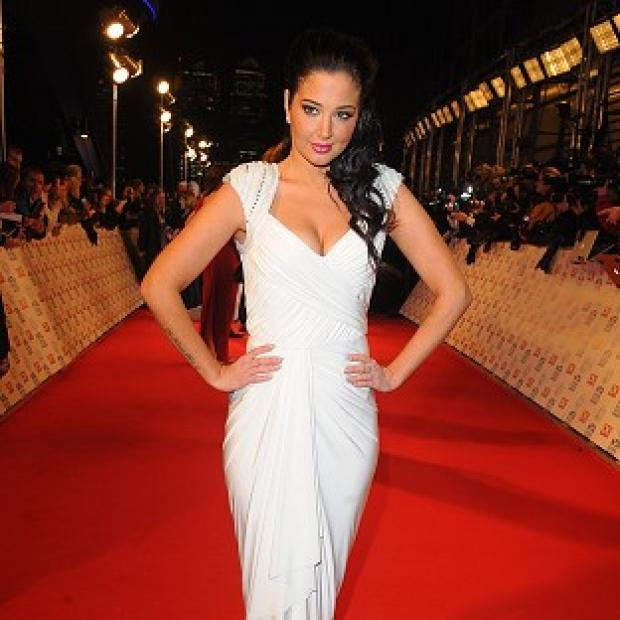 Tulisa Contostavlos arriving for the 2013 National Television Awards at the O2 Arena
