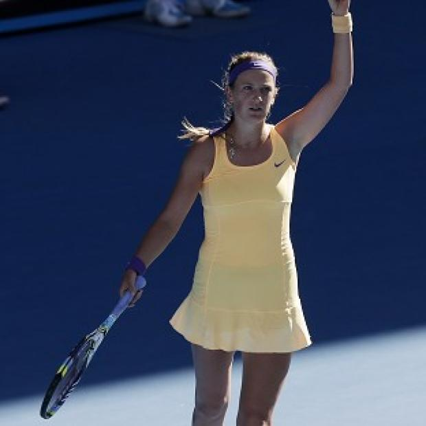 Victoria Azarenka, pictured, will face Li Na in the Australian Open final (AP)