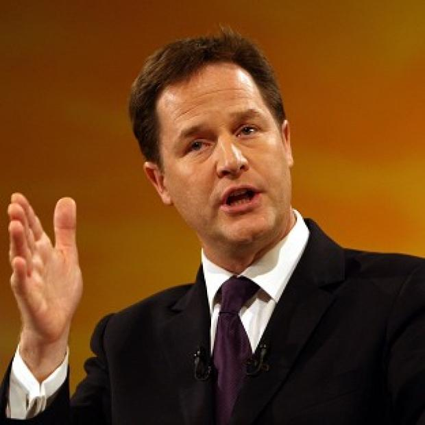 Nick Clegg said the Government was committed to finding innovative ways of raising funds for capital investment