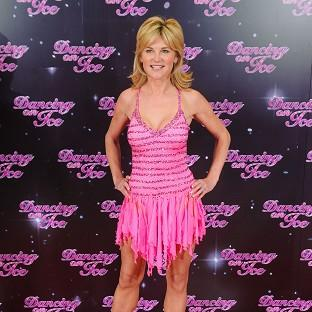 Anthea Turner has been given the boot from Dancing on Ice