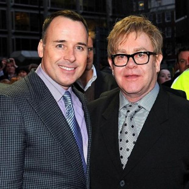Sir Elton John and partner David Furnish have been talking about their joy at welcoming a second son into their family