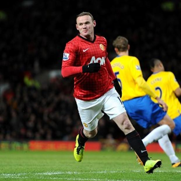 Wayne Rooney scored twice in Manchester United's win over Southampton