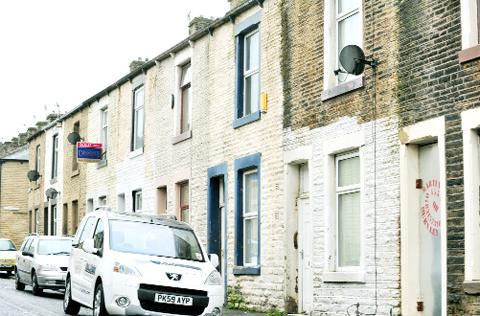Some of Burnley's terraced streets are in need of renovation