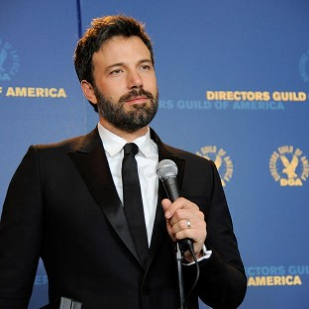 Ben Affleck after being named winner of outstanding directorial achievement in feature film at the Directors Guild of America Awards (AP)