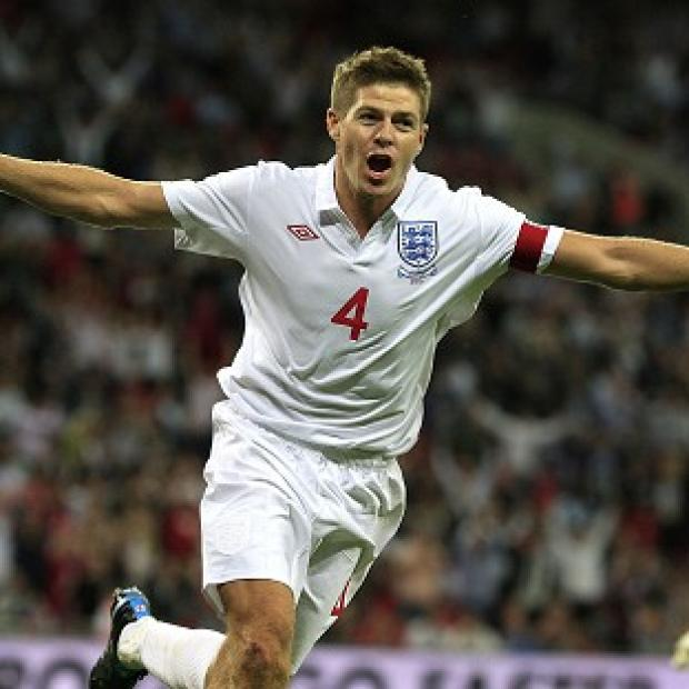 Steven Gerrard has been capped 100 times by his country