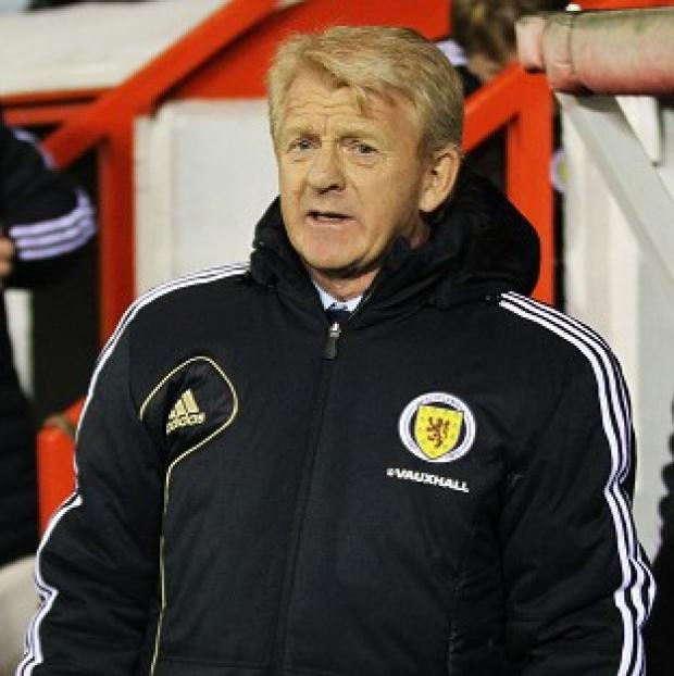 Gordon Strachan felt a mixture of nerves and excitement ahead of his Scotland managerial bow