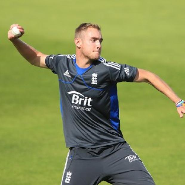 Stuart Broad took four wickets in a convincing England win