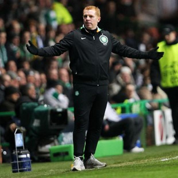 Burnley and Pendle Citizen: Neil Lennon was unhappy with the referee in Celtic's Champions League clash with Juventus