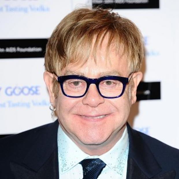 Sir Elton John is launching a Valentine's Day campaign to raise awareness of Aids
