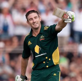 Shaun Marsh limped to a match-winning hundred as Australia A beat England Lions