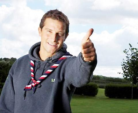 Burnley and Pendle Citizen: Chief Scout Bear Grylls