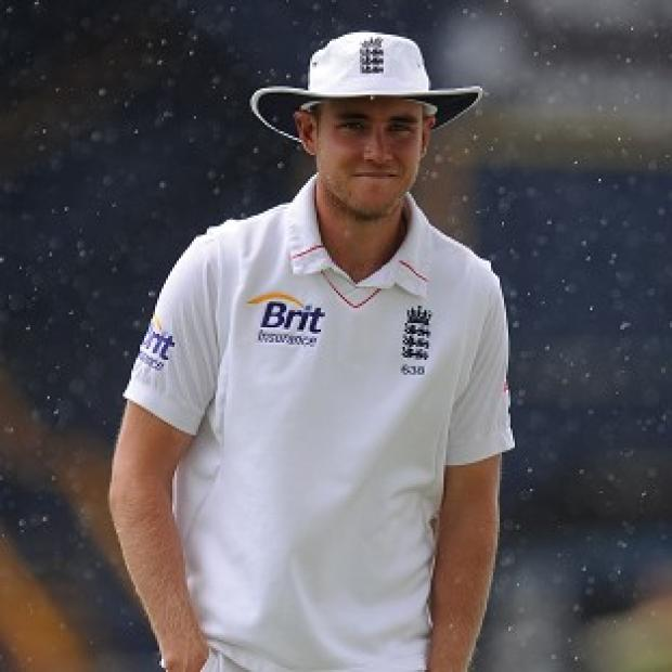 Stuart Broad is on track for a Test return against New Zealand next week